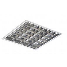Светильник РАСТРОВЫЙ (ЛЛ) встраиваемый 4*18Вт зеркал.(ЭмПРА-Европа, стартеры-Philips) ТECHNOLUX