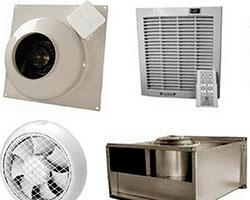 Вентиляционное оборудование и принадлежности