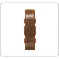 Соединение для плинтуса Е67, ДУБ, (упак-50 шт) ИДЕАЛ ЭЛИТ