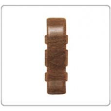 Соединение для плинтуса Е67, ВЕНГЕ, (упак-50 шт) ИДЕАЛ ЭЛИТ
